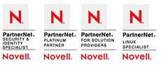 Novell security and identity specialist - platinum partner - linux specialist